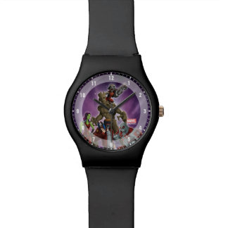 Guardians of the Galaxy | Group In Space Wristwatch