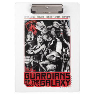 Guardians of the Galaxy | Grunge Crew Art Clipboard