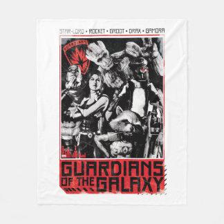 Guardians of the Galaxy | Grunge Crew Art Fleece Blanket