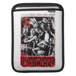 Guardians of the Galaxy   Grunge Crew Art iPad Sleeves