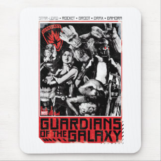 Guardians of the Galaxy   Grunge Crew Art Mouse Pad