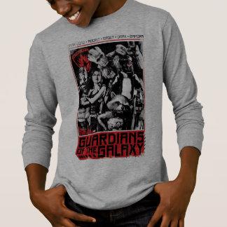 Guardians of the Galaxy   Grunge Crew Art T-Shirt