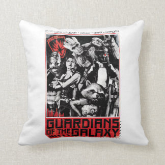 Guardians of the Galaxy | Grunge Crew Art Throw Pillow
