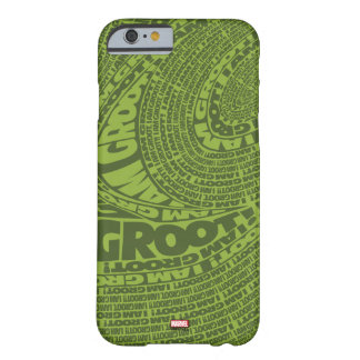 Guardians of the Galaxy | I Am Groot Typography Barely There iPhone 6 Case