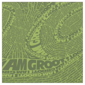 Guardians of the Galaxy | I Am Groot Typography Fabric