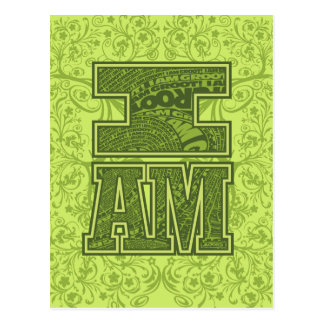 Guardians of the Galaxy | I Am Groot Typography Postcard