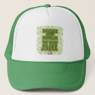 Guardians of the Galaxy   I Am Groot Typography Trucker Hat