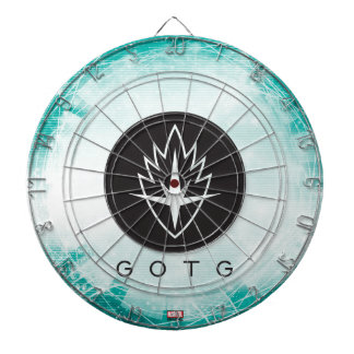 Guardians of the Galaxy | Interlaced Badge Dartboard