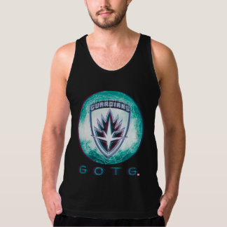 Guardians of the Galaxy | Interlaced Badge Tank Top