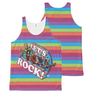 Guardians of the Galaxy | Let's Rock! All-Over-Print Tank Top