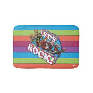 Guardians of the Galaxy | Let's Rock! Bath Mat