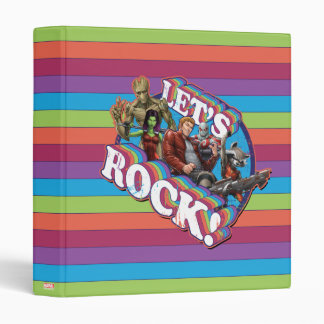 Guardians of the Galaxy | Let's Rock! Binders
