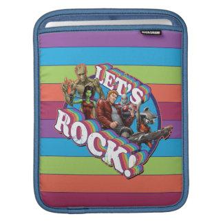 Guardians of the Galaxy | Let's Rock! iPad Sleeve