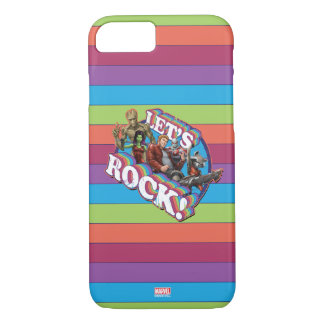 Guardians of the Galaxy | Let's Rock! iPhone 8/7 Case
