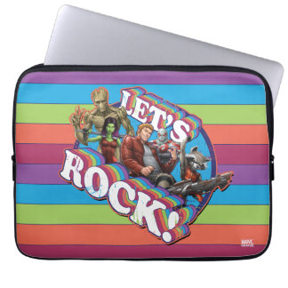 Guardians of the Galaxy | Let's Rock! Laptop Sleeves