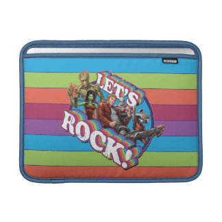 Guardians of the Galaxy | Let's Rock! MacBook Air Sleeve