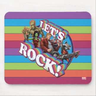 Guardians of the Galaxy | Let's Rock! Mouse Pad