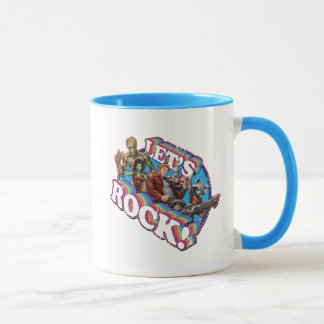 Guardians of the Galaxy | Let's Rock! Mug