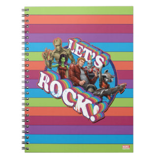 Guardians of the Galaxy | Let's Rock! Notebooks