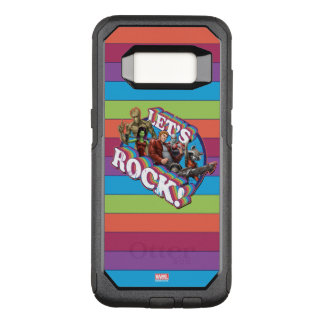 Guardians of the Galaxy | Let's Rock! OtterBox Commuter Samsung Galaxy S8 Case