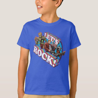 Guardians of the Galaxy | Let's Rock! T-Shirt