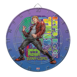 Guardians of the Galaxy   Let's Rock This! Dart Board