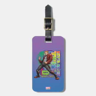 Guardians of the Galaxy | Let's Rock This! Luggage Tag