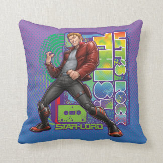 Guardians of the Galaxy | Let's Rock This! Throw Pillow