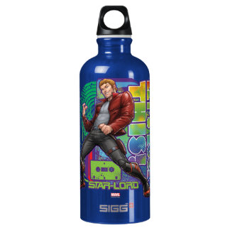 Guardians of the Galaxy | Let's Rock This! Water Bottle
