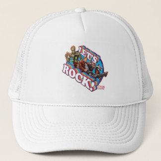 Guardians of the Galaxy | Let's Rock! Trucker Hat