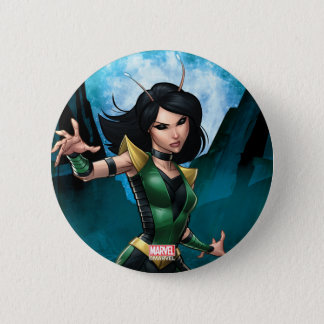 Guardians of the Galaxy   Mantis Character Art 2 Inch Round Button
