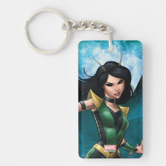 Guardians of the Galaxy | Mantis Character Art Double-Sided Rectangular Acrylic Keychain