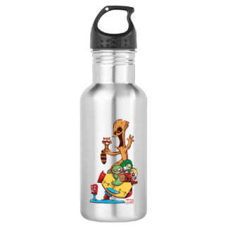 Guardians of the Galaxy | Mechanical Rocket Ride 532 Ml Water Bottle