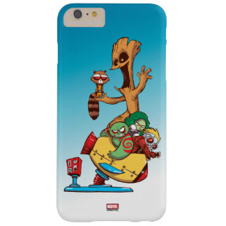 Guardians of the Galaxy | Mechanical Rocket Ride Barely There iPhone 6 Plus Case