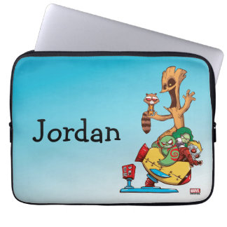 Guardians of the Galaxy | Mechanical Rocket Ride Laptop Sleeve