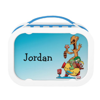 Guardians of the Galaxy | Mechanical Rocket Ride Lunch Box
