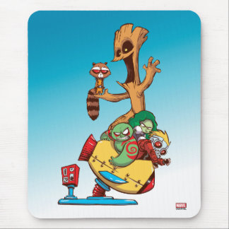 Guardians of the Galaxy | Mechanical Rocket Ride Mouse Pad