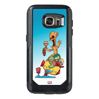 Guardians of the Galaxy | Mechanical Rocket Ride OtterBox Samsung Galaxy S7 Case