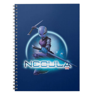 Guardians of the Galaxy   Nebula Character Badge Notebook