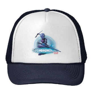 Guardians of the Galaxy   Nebula Character Badge Trucker Hat