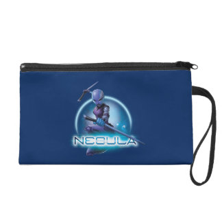Guardians of the Galaxy | Nebula Character Badge Wristlet