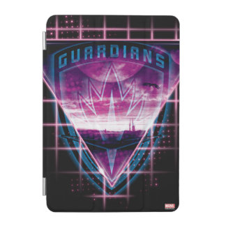 Guardians of the Galaxy | Neon Superimposed Logo iPad Mini Cover