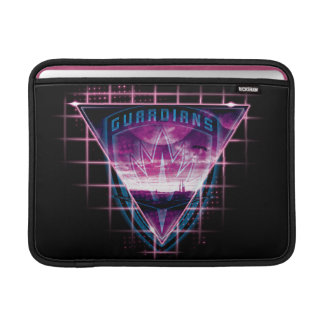 Guardians of the Galaxy | Neon Superimposed Logo MacBook Sleeve