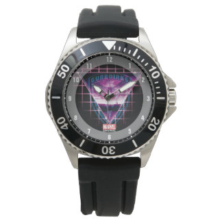Guardians of the Galaxy   Neon Superimposed Logo Watch