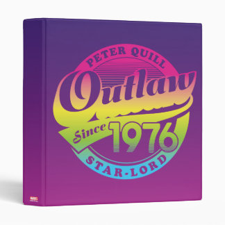 Guardians of the Galaxy | Outlaw Since 1976 3 Ring Binder