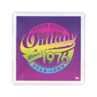 Guardians of the Galaxy | Outlaw Since 1976 Acrylic Tray