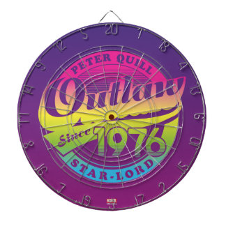 Guardians of the Galaxy   Outlaw Since 1976 Dart Board