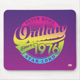 Guardians of the Galaxy | Outlaw Since 1976 Mouse Pad