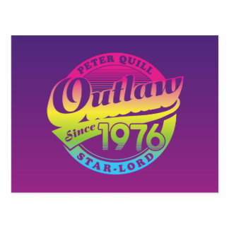 Guardians of the Galaxy | Outlaw Since 1976 Postcard