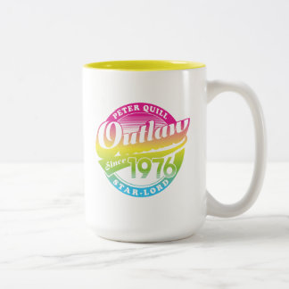 Guardians of the Galaxy | Outlaw Since 1976 Two-Tone Coffee Mug